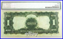 Series Of 1899 $1 Black Eagle Silver Certificate Note Fr#230 PMG XF40