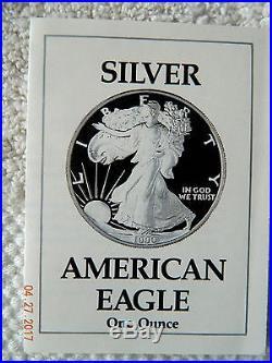 Set Of Proof Silver Eagles 1986-2016 In Ogp