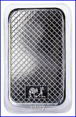 SilverTowne Mint Eagle Design 5 oz Silver Bar GEM BU