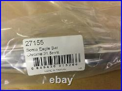 Soma Eagle Handlebar CrMo Bar 31.8 10mm 650mm Chrome 3-Way 720g 27155 Charity