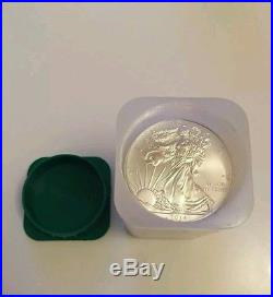 Tube Of 20 Silver 2014 American Eagle 1oz. 999 Bullion Coins