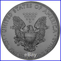 USA 4 x 1 Dollar 2017 Silver Eagle 4 Jahreszeiten Satz 4 x 1 Oz Silber ST